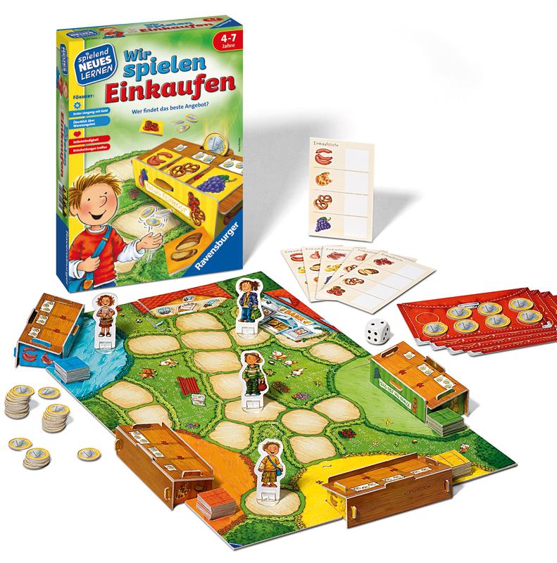 Ravensburger Kinderspiel Wir spielen Einkaufen ...