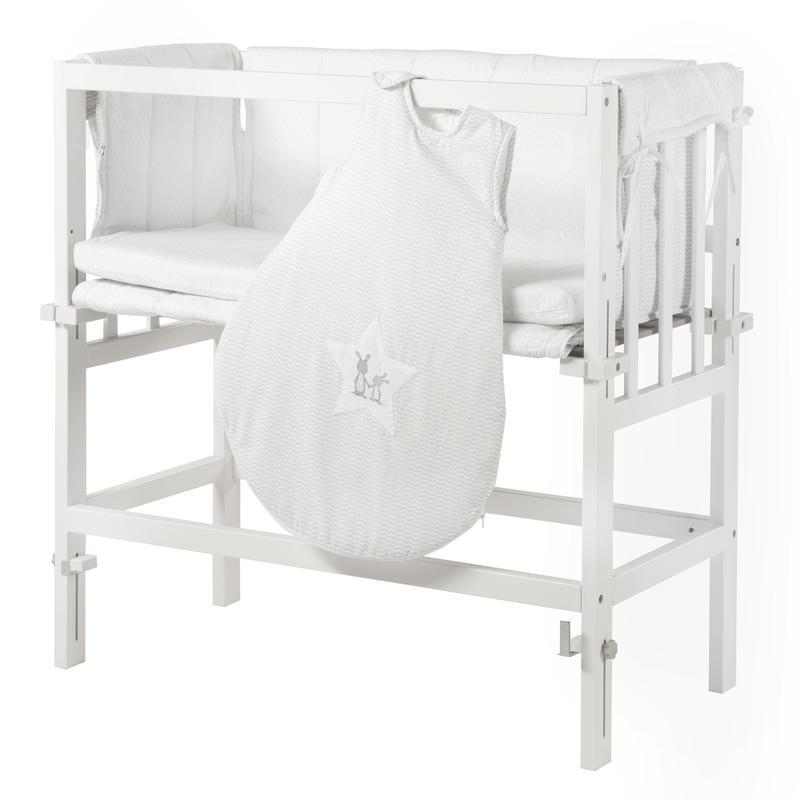 roba beistellbett mit komforth he fox bunny bei spielzeug24. Black Bedroom Furniture Sets. Home Design Ideas