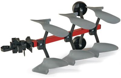 Rolly Toys RollyTrailer Pflug (Rot) [Kinderspielzeug]