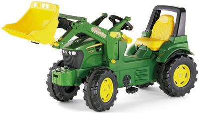 Rolly Toys RollyFarmtrac Premium John Deere 7930 Traktor mit Frontlader (Grün) [Kinderspielzeug]