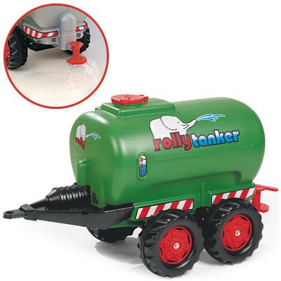 Rolly Toys RollyTrailer Fendt Anhänger Tanker (Grün) [Kinderspielzeug]