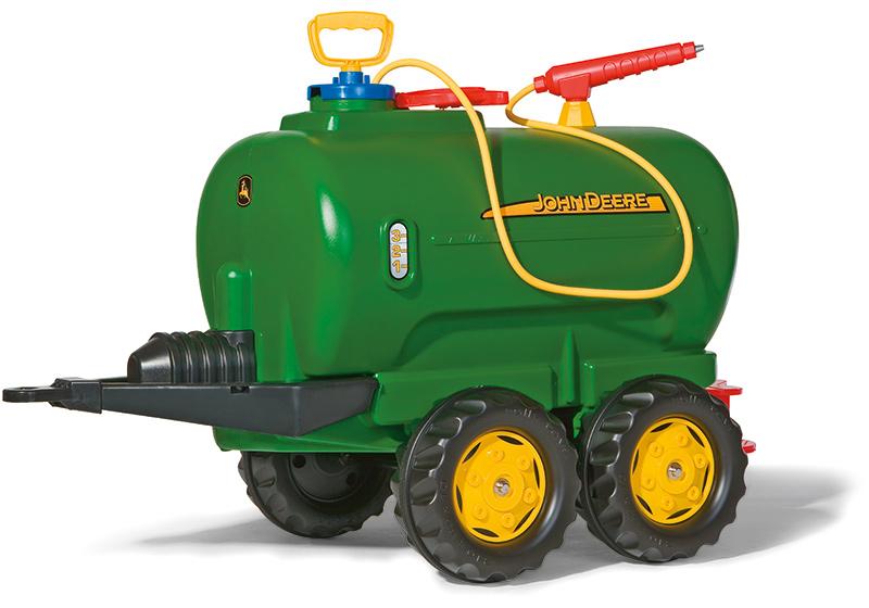 Fürtreter - Rolly Toys RollyTrailer Anhänger John Deere Tanker mit Pumpe und Spritze (Grün) [Kinderspielzeug] - Onlineshop