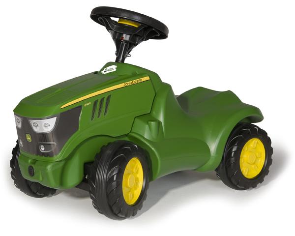 Rolly Toys RollyMinitrac John Deere 6150 R Rutscher (Grün) [Kinderspielzeug]