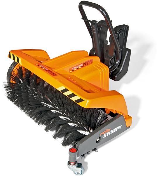 Rolly toys sweepy kehrmaschine orange für kinder
