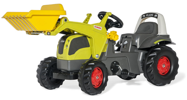 rolly-toys-rollykid-claas-elios-traktor-mit-lader-grun-kinderspielzeug-