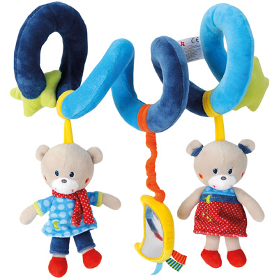 simba nicotoy baby activity spirale teddy ebay. Black Bedroom Furniture Sets. Home Design Ideas