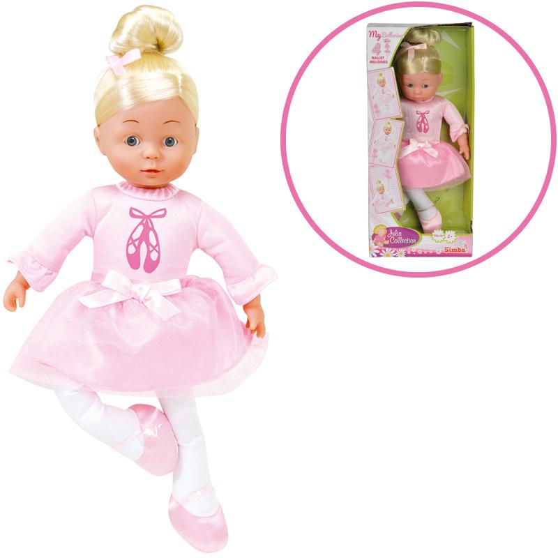 Simba My Love Ballerina Puppe mit Musik [Kinder...