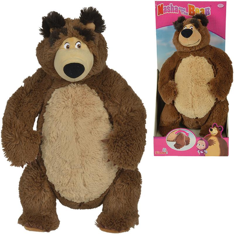 simba-masha-and-the-bear-pluschbar-43-cm-refresh-braun-kinderspielzeug-