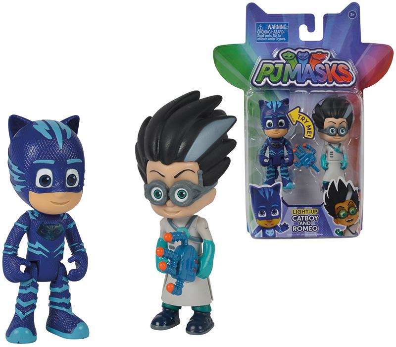 simba-pj-masks-figuren-set-2er-pack-catboy-und-romeo-mit-licht-kinderspielzeug-
