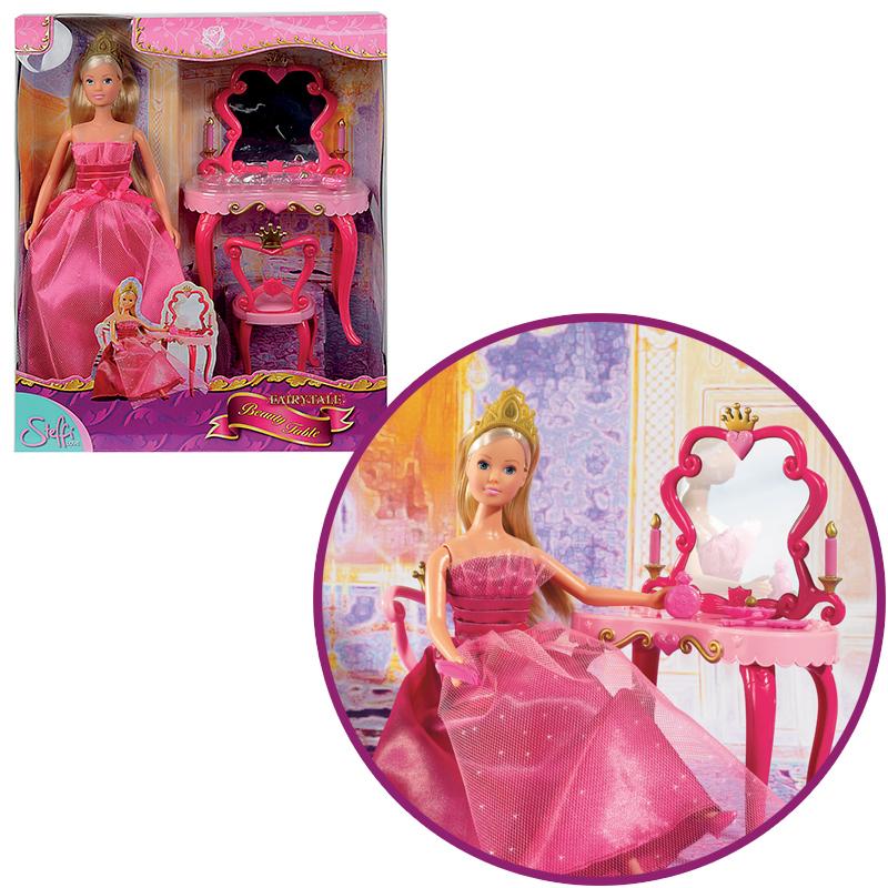 simba steffi love fairytale mit schminktisch bei. Black Bedroom Furniture Sets. Home Design Ideas