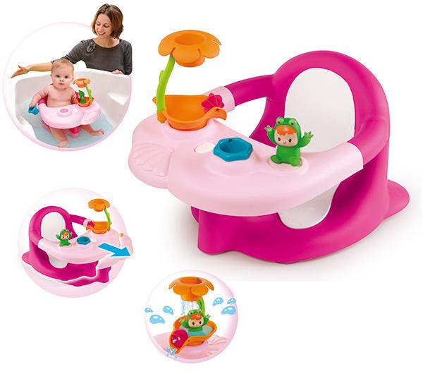 smoby cotoons badesitz 2in1 pink sitz f r badewanne baby badewannensitz neu ebay. Black Bedroom Furniture Sets. Home Design Ideas