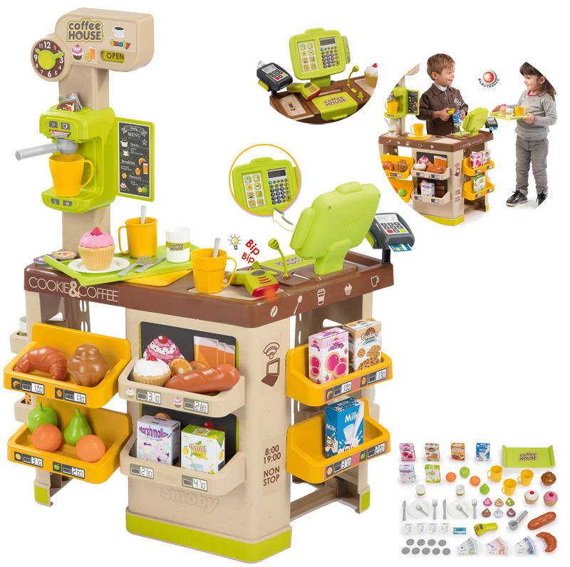 smoby-kaufmannsladen-coffee-shop-mit-zubehor-kinderspielzeug-