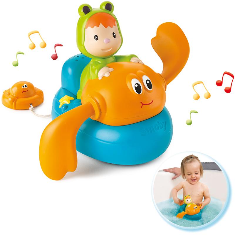 Smoby Cotoons Musikalische Badekrabbe Bei Spielzeug24