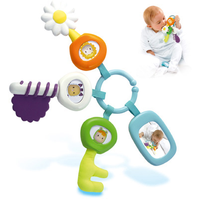 smoby cotoons activity schl ssel babyspielzeug motorik spielzeug baby neu. Black Bedroom Furniture Sets. Home Design Ideas