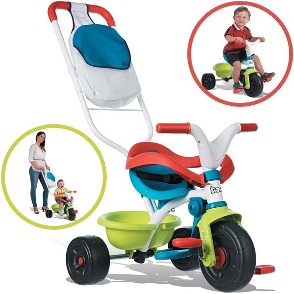 Smoby Dreirad Be Move Comfort Pop (Petrol Grün) [Kinderspielzeug]