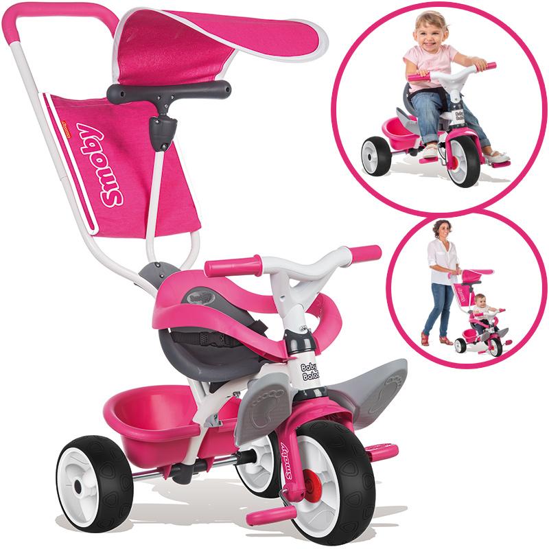 Smoby Dreirad Baby Balade Comfort (Pink) [Kinderspielzeug]