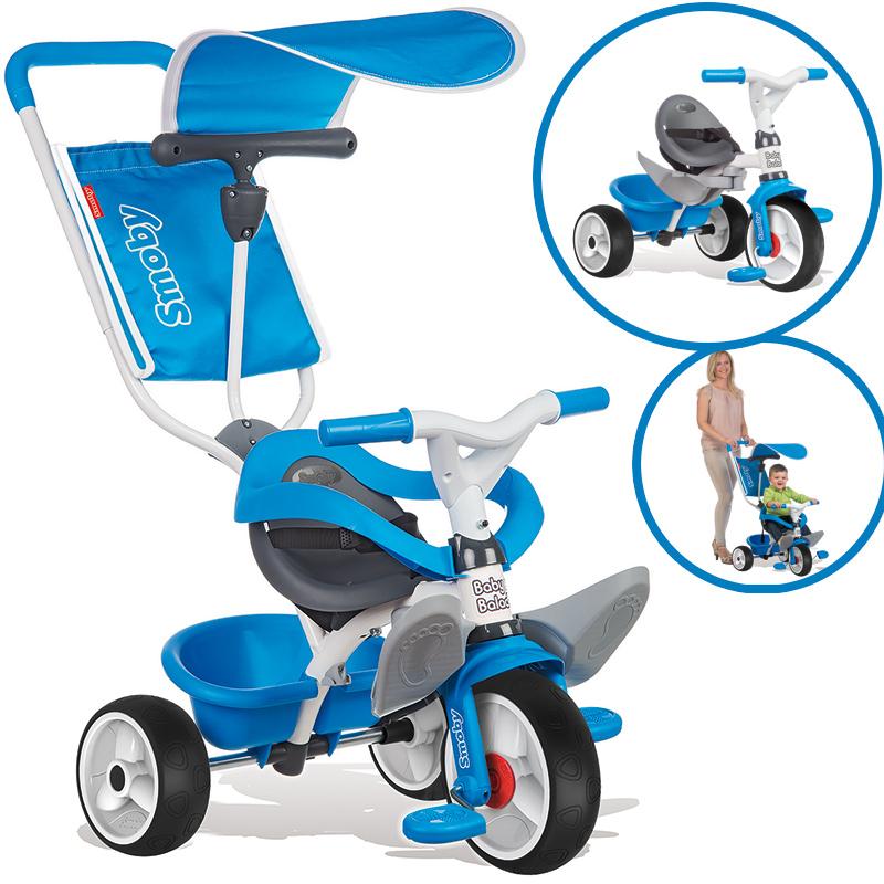 Smoby Dreirad Baby Balade Comfort (Blau) [Kinderspielzeug]