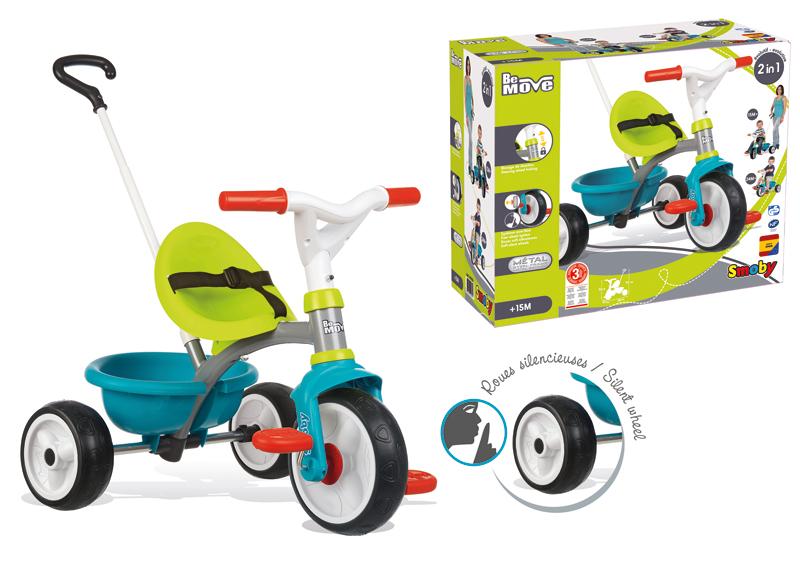 Smoby Dreirad Be Move Boy (Petrol Blau) [Kinderspielzeug]