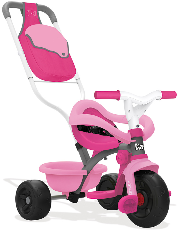 Smoby Dreirad Be Move Comfort Girl (Rosa Pink) [Kinderspielzeug]