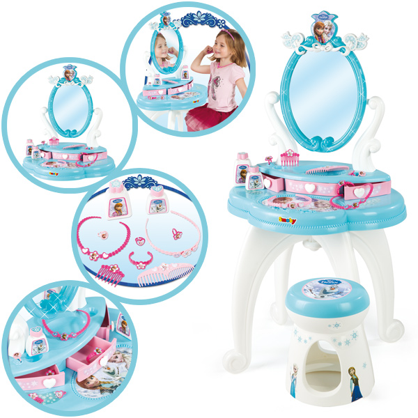 disney frozen frisier u schminktisch die eisk nigin 2in1. Black Bedroom Furniture Sets. Home Design Ideas