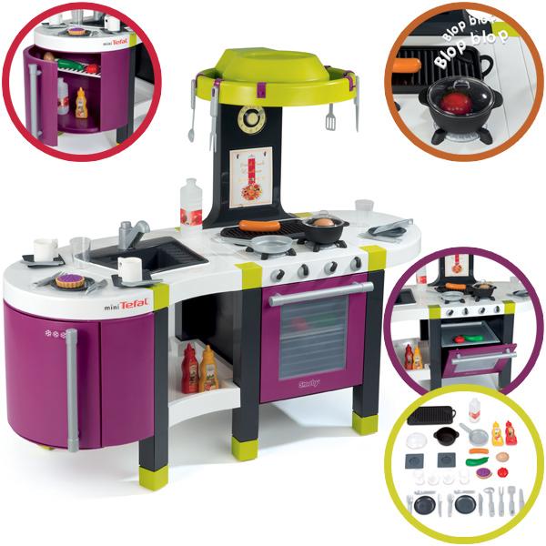 Smoby mini tefal elektronische kuche french touch for Küche kinderspielzeug