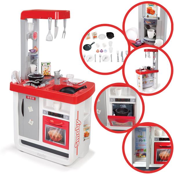 Elektronische Spielküche Smoby Mini Tefal : Smoby Elektronische Kinderk?che  Bon Appetit Rot Wei?