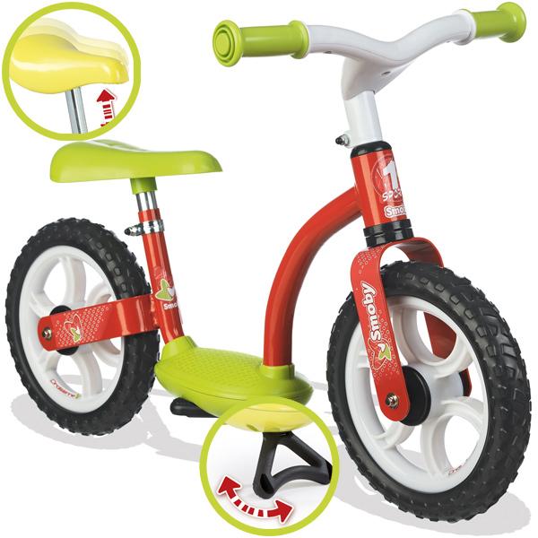 Smoby Laufrad City Comfort (Rot Lemon) [Kinderspielzeug]