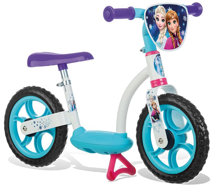 Smoby Disney Frozen Laufrad Comfort (Türkis Weiß) [Kinderspielzeug]