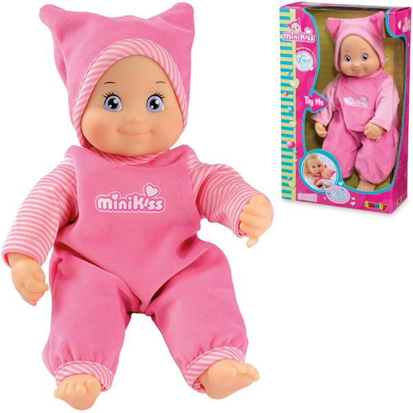 Minikiss Schmusepuppe (Rosa) [Kinderspielzeug]