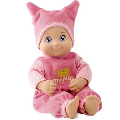Minikiss Puppe mit Funktion (Rosa) [Babyspielzeug]