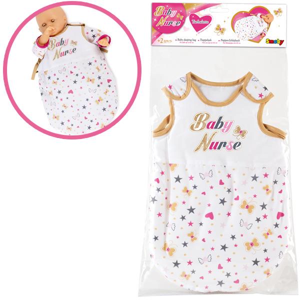 smoby-puppenschlafsack-baby-nurse-wei-gold-kinderspielzeug-