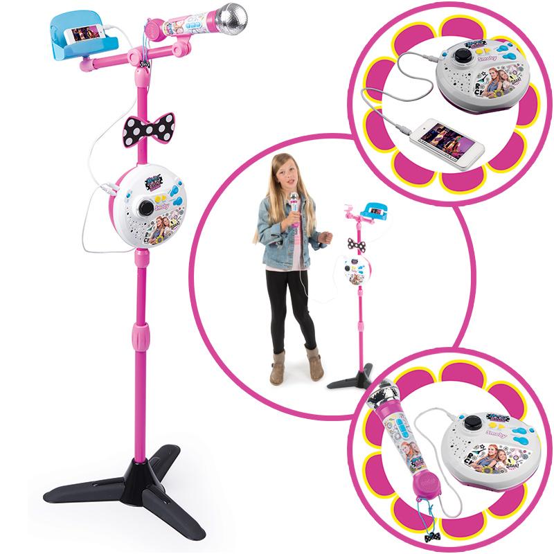 smoby-maggie-bianca-karaoke-standmikrofon-kinderspielzeug-