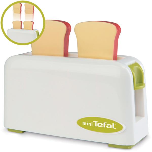 alle bewertungen zu mini tefal toaster wei gr n bei spielzeug24. Black Bedroom Furniture Sets. Home Design Ideas