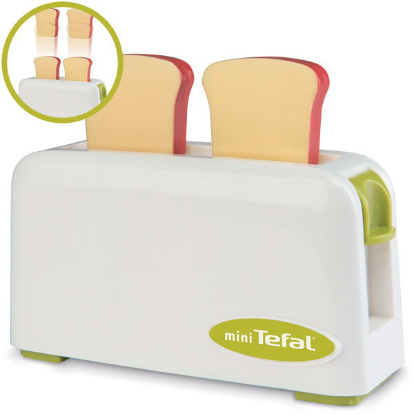 Smoby Mini Tefal Toaster (Weiß-Grün) [Kinderspielzeug] - Preisvergleich