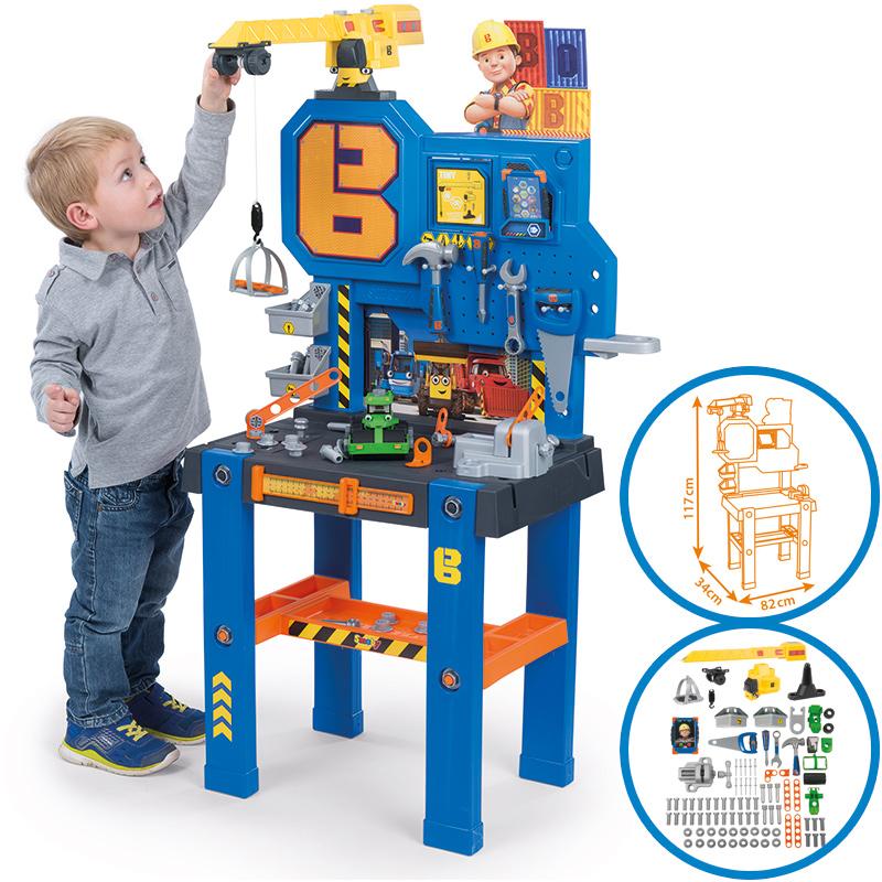 smoby-bob-der-baumeister-werkbank-center-mit-kran-kinderspielzeug-