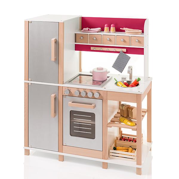 Tefal Kinderküche Sun Große Kinderküche Aus Holz Buche Beere Bei Nunon De