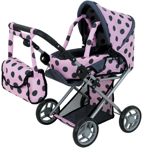 sun-mein-erster-puppenwagen-jana-dots-rosa-schwarz-kinderspielzeug-