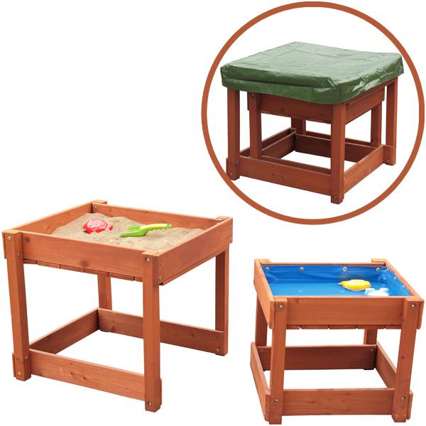 sun sand und wasserspieltisch lukas braun spieltisch garten sand wasser kinder ebay. Black Bedroom Furniture Sets. Home Design Ideas