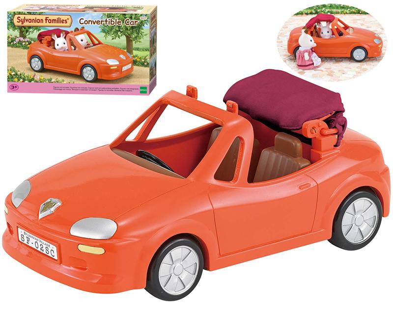 Sylvanian Families Rotes Cabrio Auto für die Sy...