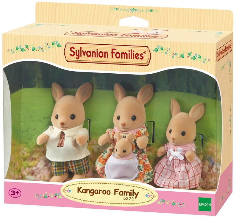 Sylvanian Families Känguru Familie Beutel [Kind...