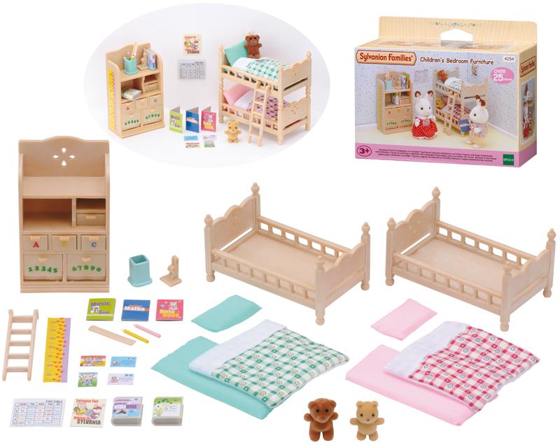 epoch-sylvanian-families-kinderzimmer-mobel-mit-etagenbett-kinderspielzeug-