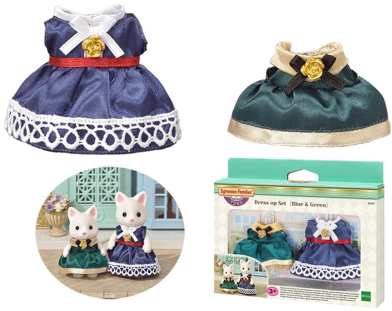 Epoch Sylvanian Families Town Series Kleidungsset Mutter & Tochter Cocktailkleid [Kinderspielzeug]