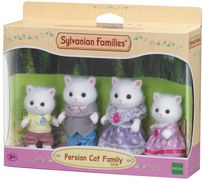 Sylvanian Families Peserkatzen Familie Samtpfot...
