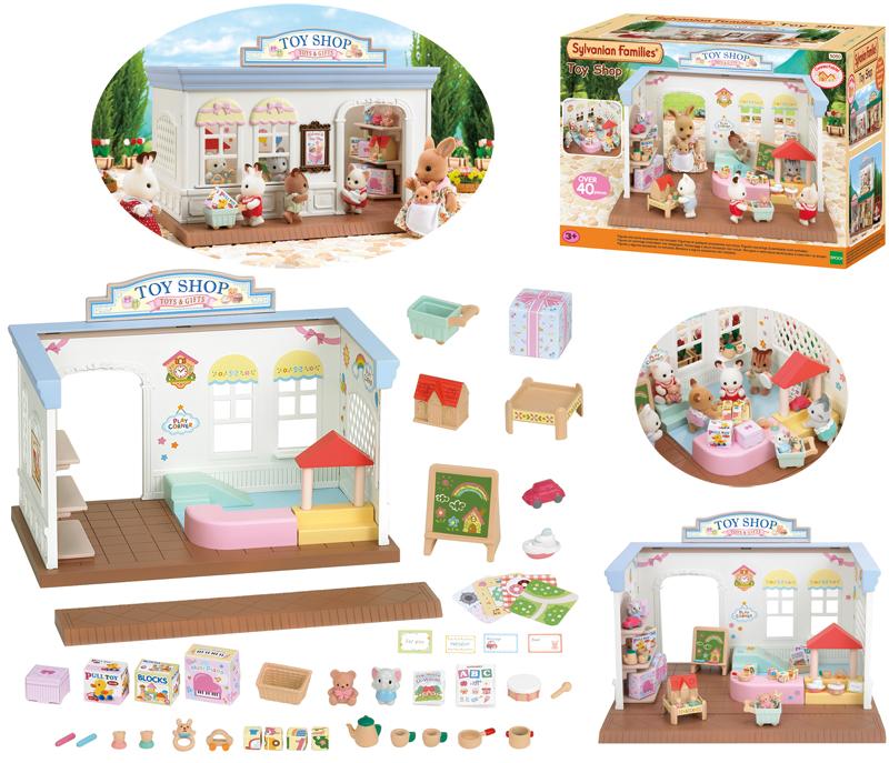 Sylvanian Families Spielzeugladen Abenteuerkist...