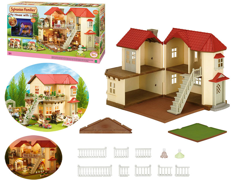 Sylvanian Families Sylvanian Families Stadthaus mit Licht