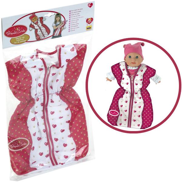 theo-klein-princess-coralie-schlafsack-herzchen-weinrot-wei-kinderspielzeug-
