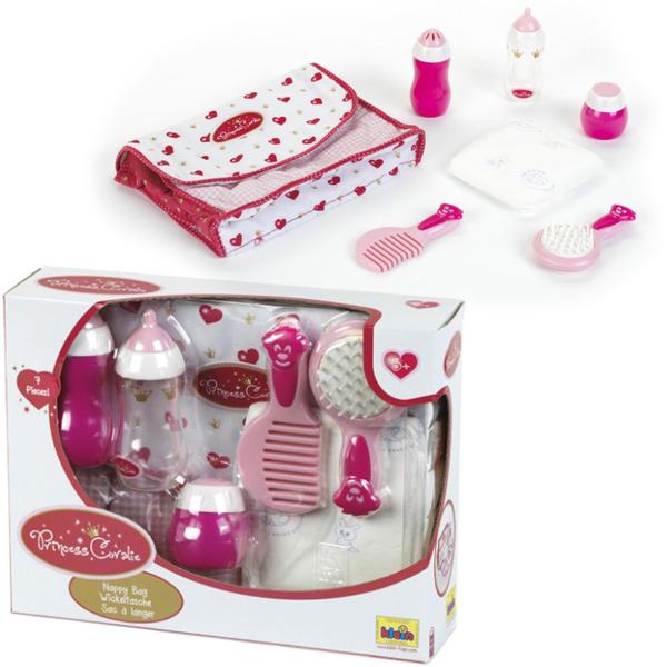 theo-klein-princess-coralie-wickeltasche-weinrot-wei-kinderspielzeug-