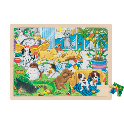 goki-holzpuzzle-welpenschule-48-teilig-kinderspielzeug-
