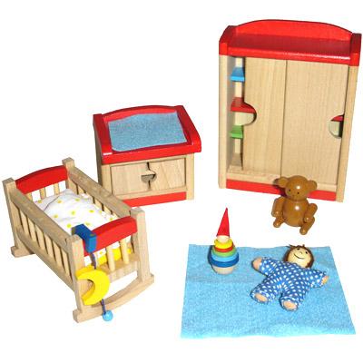 Puppenhausmöbel für das Kinderzimmer [Kinderspielzeug]