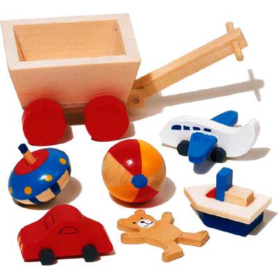 Goki 7 teilige puppenhaus accessoires kinderzimmer bei for Accessoires kinderzimmer